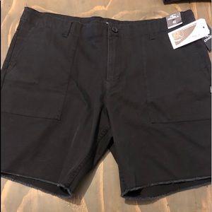 New black O'Neill shorts size 42